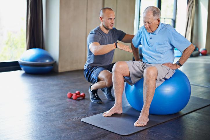 Fisioterapia realizada de forma individual